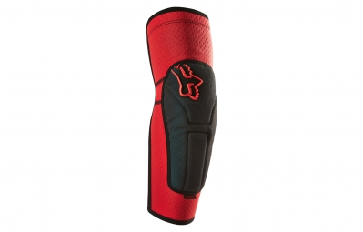 fox coudieres launch enduro pad rouge gris