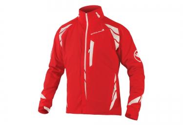 endura veste impermeable 4 en 1 luminite rouge