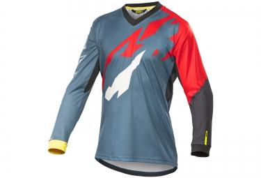 mavic 2016 maillot manches longues crossmax pro gris rouge
