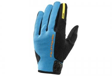 mavic 2016 paire de gants crossride protect bleu noir