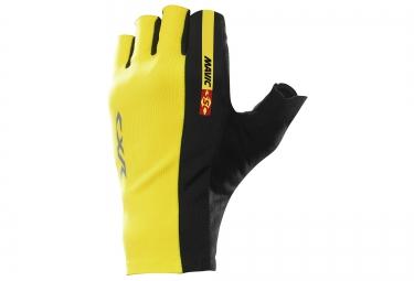 mavic paire de gants cxr ultimate jaune noir