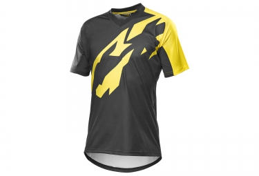 mavic 2016 maillot crossmax pro noir jaune
