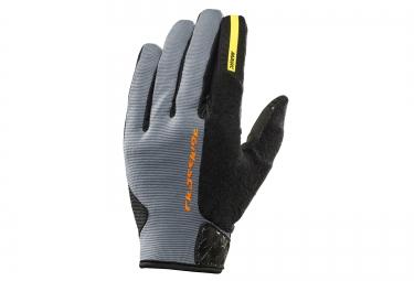 mavic 2016 paire de gants crossride protect gris noir
