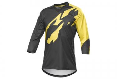 mavic 2016 maillot crossmax pro manches 3 4 noir jaune