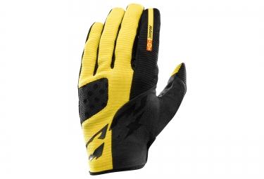 mavic 2016 paire de gants crossmax pro jaune noir