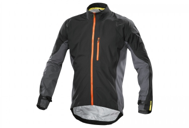 mavic veste cosmic elite h20 noir gris orange