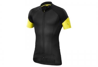 mavic maillot cosmic pro noir jaune