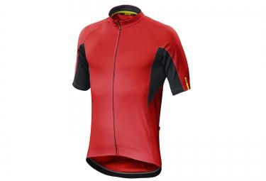 mavic maillot aksium rouge noir