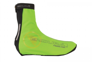 endura couvre chaussures impermeable high visibility vert fluo
