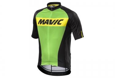 mavic maillot cosmic vert noir