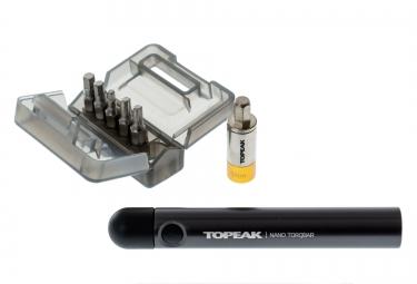 topeak cle dynamometrique nano torqbar 5nm 5 fonctions
