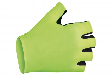 castelli paire de gants secondapelle rc jaune noir