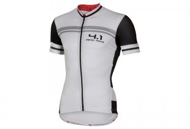 castelli maillot free aero 4 1 blanc noir
