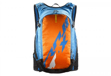 mavic sac hydratation crossmax 25l bleu orange