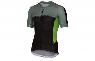 castelli maillot aero race 5 1 noir vert