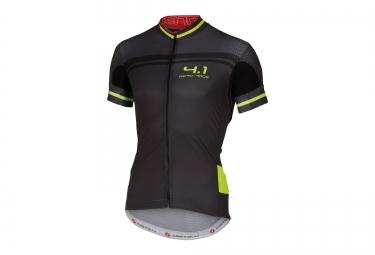 castelli maillot free aero 4 1 noir jaune
