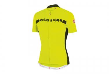 castelli maillot prologo 4 jaune noir