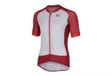 castelli maillot climber s 2 0 blanc rouge