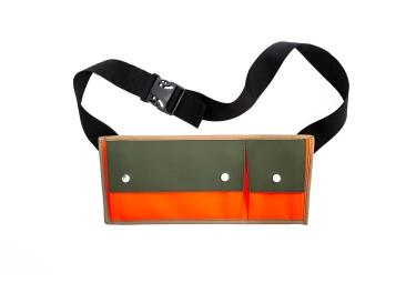 rains pochette bandouliere cross bag orange vert