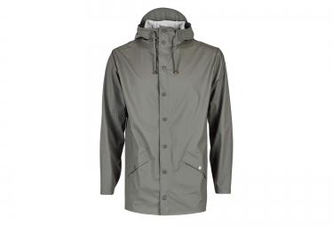 rains veste jacket gris