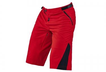troy lee designs 2016 short avec peau ruckus rouge
