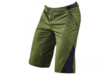 troy lee designs 2016 short avec peau ruckus vert