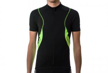 northwave maillot sonic vert noir