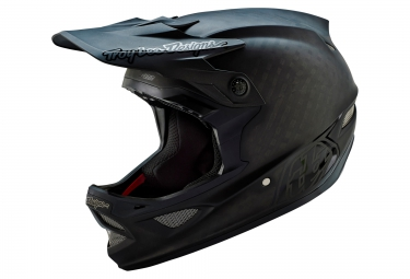 casque integral troy lee designs d3 carbon midnight 2016 noir mat