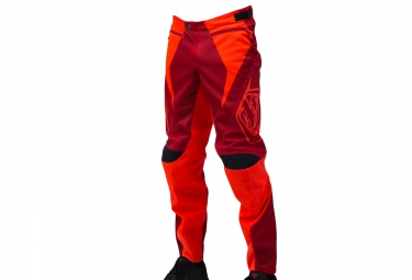 troy lee designs 2016 pantalon enfant sprint rouge orange
