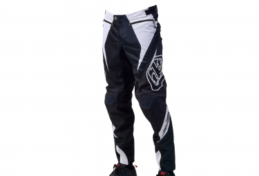 troy lee designs 2016 pantalon sprint reflex blanc noir