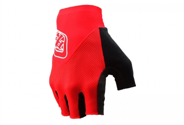 troy lee designs 2016 gants courts ace rouge