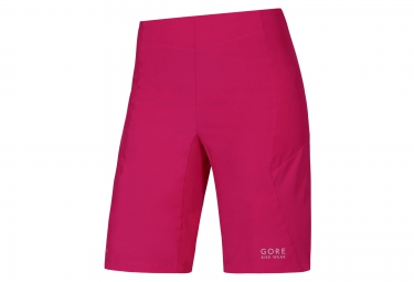 gore bike wear short power trail rose femme