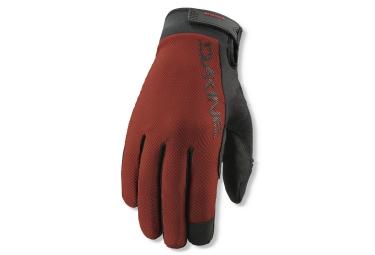 dakine 2016 paire de gants exodus rouge