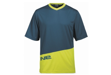 dakine 2016 maillot manches courtes vectra bleu jaune