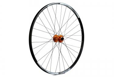 hope roue avant tech xc pro 4 29 32 rayons axe 15 9 mm orange