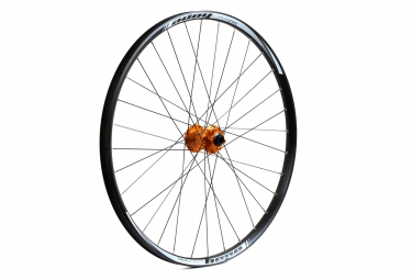 hope roue avant tech enduro pro 4 27 5 15x100mm orange