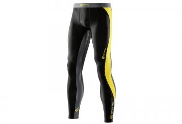collant de compression skins dnamic homme noir jaune