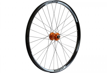 hope roue avant dh pro 4 27 5 20x110mm orange