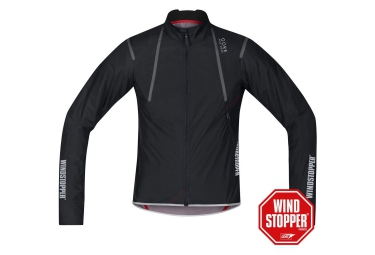 gore bike wear veste oxygen windstopper active shell light noir