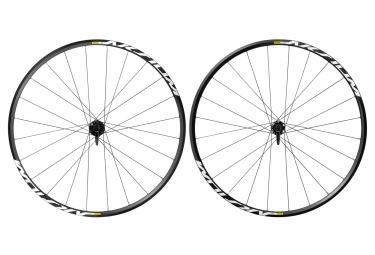 paire de roues mavic aksium disc 2016 noir corps campagnolo