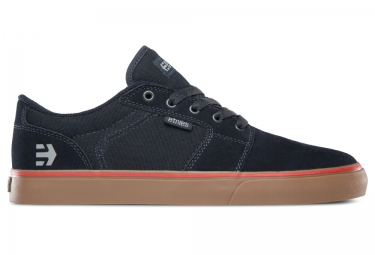 paire de chaussures bmx etnies barge ls bleu gum