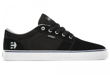 paire de chaussures bmx etnies barge ls noir blanc