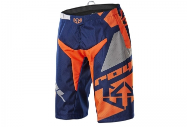 royal short victory race bleu gris orange