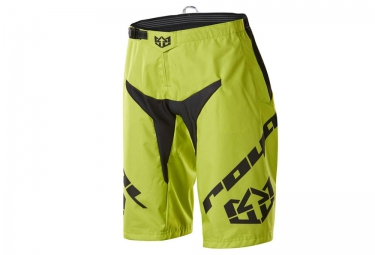 royal short racelite jaune noir