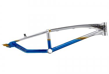 gt cadre speed series bleu argent