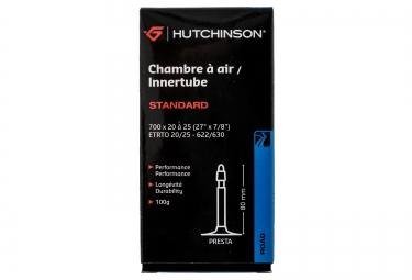 hutchinson chambre a air standard 700 x 20 a 25mm presta 80mm