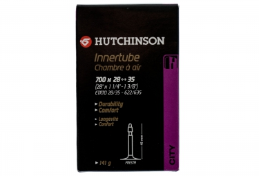 hutchinson chambre a air standard 700 x 28 35mm presta 48mm