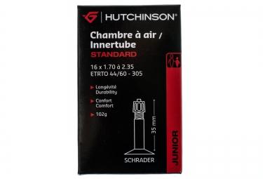 hutchinson chambre a air standard 16 x 1 70 a 2 35 mm schrader 35mm
