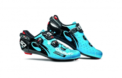 chaussures route sidi wire carbon 2016 chris froome bleu sky