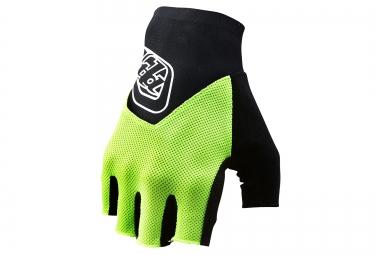 image troy lee designs 2016 gants courts ace jaune